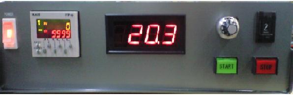 ソレノイド(電磁弁コイル)打鍵試験機、マイコンシステム